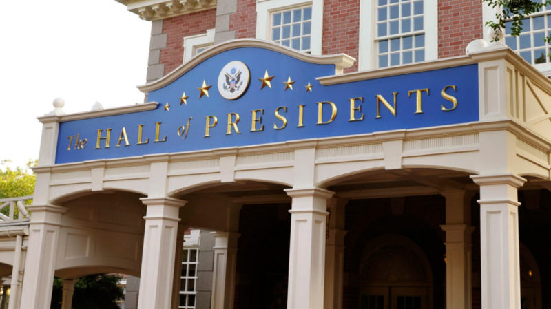 President's Day With Walt Disney World's Hall of Presidents