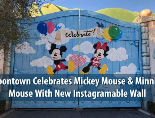 Mickey's Toontown Celebrates Mickey Mouse & Minnie Mouse With New Instagramable Wall!
