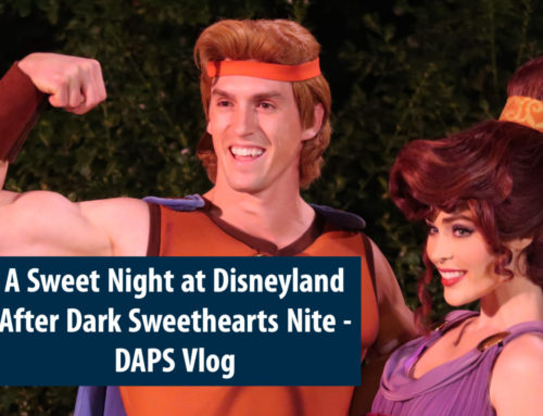 A Sweet Night at Disneyland After Dark Sweethearts' Nite – DAPS Vlog