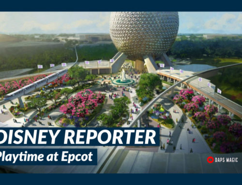 Playtime at Epcot – DISNEY Reporter
