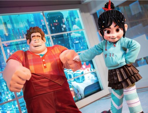 "Meet Disney's ""Wreck-It Ralph"" Stars Ralph and Vanellope at Their New Location in Epcot"
