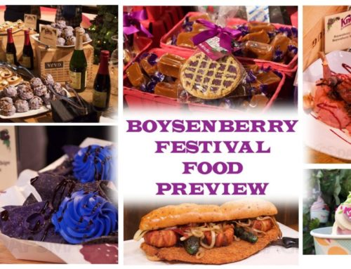 Knott's Boysenberry Festival 2019 Busts Out More Berry Food Fare to Tantalize Taste Buds