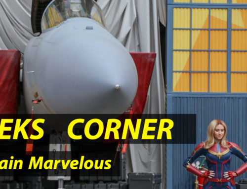 Captain Marvelous – GEEKS CORNER – Episode 924 (#442)