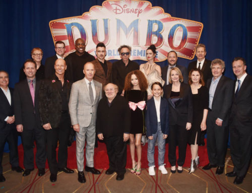 "Tim Burton's Live-Action ""Dumbo"" Celebrates World Premiere"