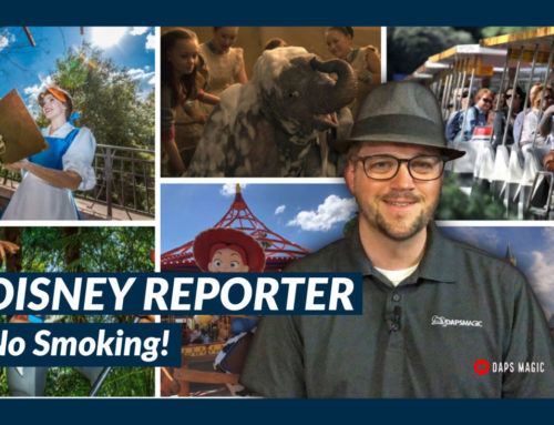 No Smoking! – DISNEY Reporter