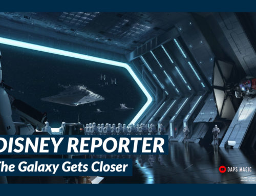 The Galaxy Gets Closer – DISNEY Reporter