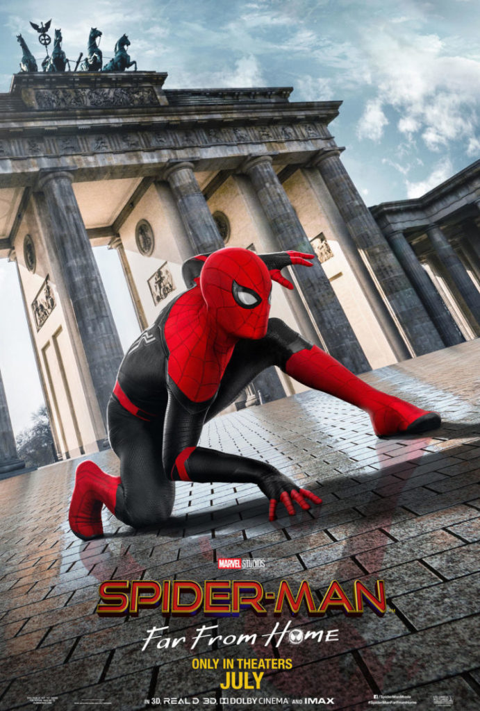 Spider-Man: Far From Home - Berlin Poster