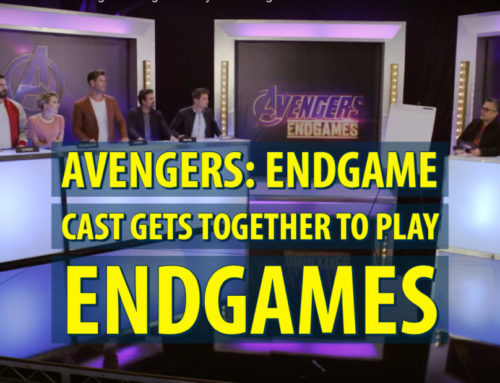 The Cast of AVENGERS: ENDGAME Play AVENGERS: ENDGAMES!