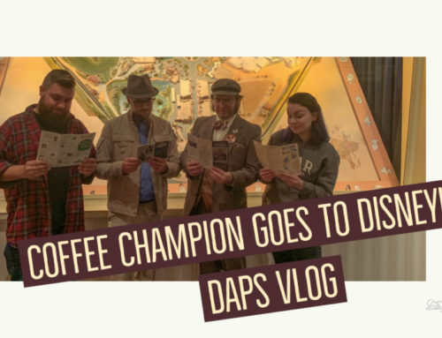 Coffee Champion Goes to Disneyland – DAPS VLOG