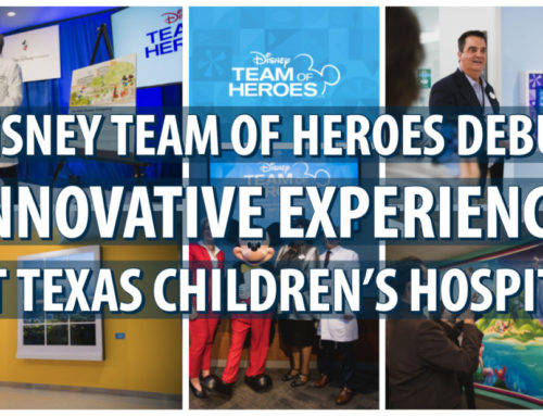 Disney Team of Heroes Debuts Innovative Experiences at Texas Children's Hospital