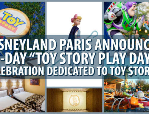 "Disneyland Paris Announces 11-Day ""Toy Story Play Days"" Celebration Dedicated to Toy Story 4"