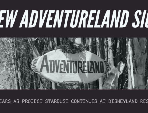 New Sign Appears at Adventureland Entrance at Disneyland as Part of Continued Updates Around the Resort