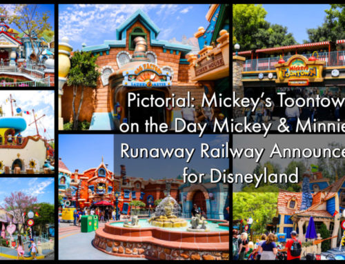 Pictorial: Mickey's Toontown on the Day Mickey & Minnie's Runaway Railway Announced for Disneyland