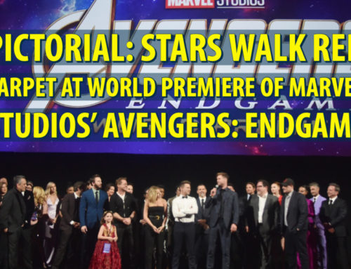 Pictorial: Stars Walk Red Carpet at World Premiere of Marvel Studios' AVENGERS: ENDGAME
