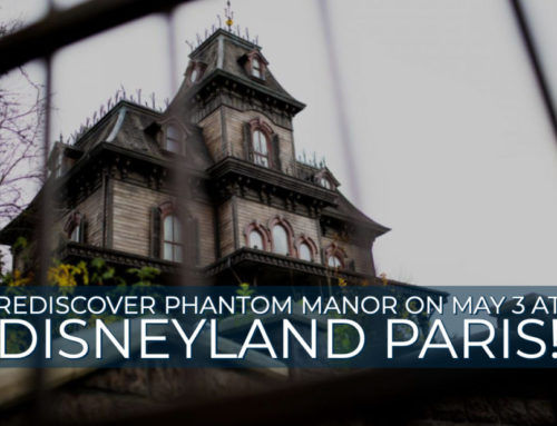 Rediscover Phantom Manor on May 3 at Disneyland Paris!