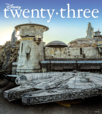 Bring Star Wars: Galaxy's Edge Home with This Month's Issue of Disney Twenty-Three