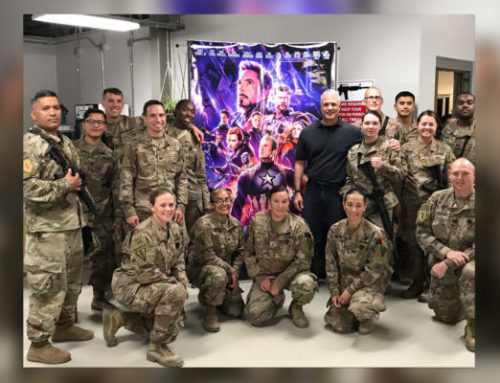Disney Brings 'Avengers: Endgame' to Troops in Afghanistan