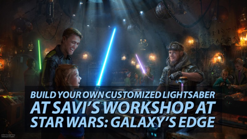Build Your Own Customized Lightsaber at Savi's Workshop at Star Wars_ Galaxy's Edge