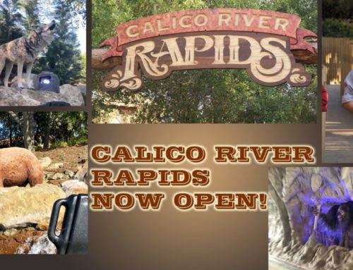 Knott's Opens the Wild Calico River Rapids to Adventurous Guests