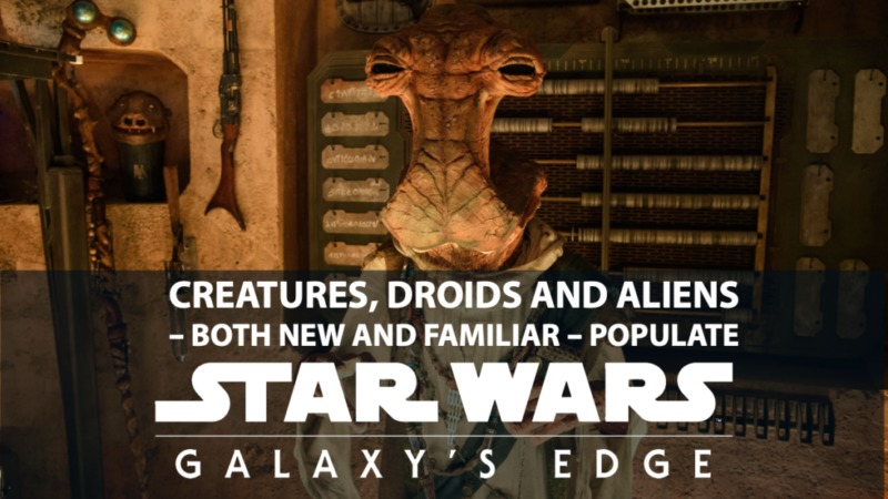 Creatures, Droids and Aliens – Both New and Familiar
