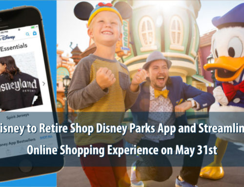 Disney to Retire Shop Disney Parks App on May 31st As It Streamlines Guest Shopping Experience