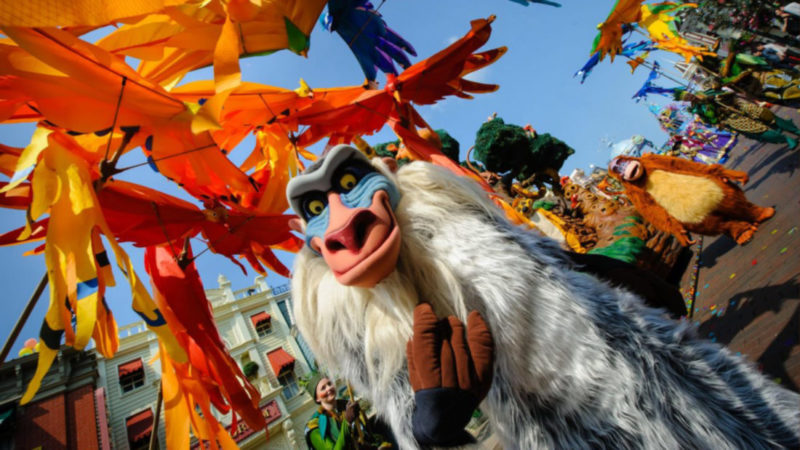 "Disneyland Paris to broadcast exclusive ""making of"" feature from behind-the-scenes at the The Lion King & Jungle Festival"