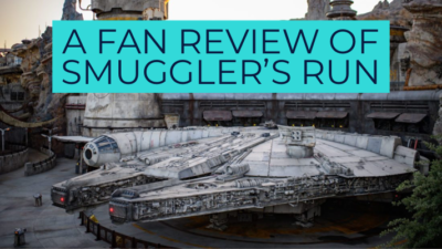 A Fan Review of Millenium Falcon: Smuggler's Run – Star Wars: Galaxy's Edge at Disneyland Resort