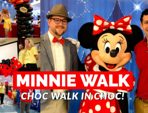 Heroes Walk in CHOC Walk in the Park's Minnie Walk with Minnie Mouse