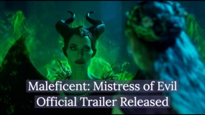 Disney Releases Official Teaser Trails for Maleficent: Mistress of Evil
