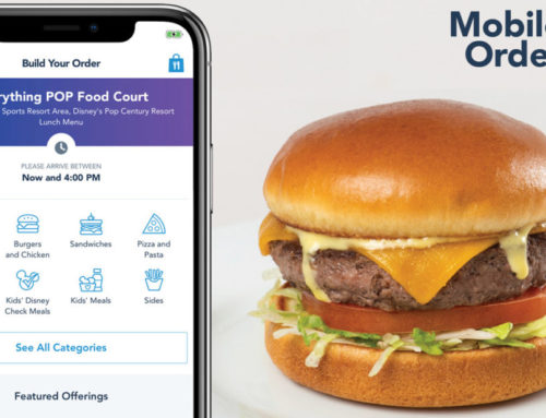 Select Walt Disney World Resort Hotels to Offer Mobile Ordering