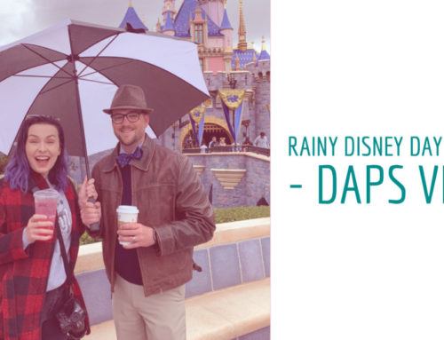 Rainy Disney Day in May – DAPS Vlog