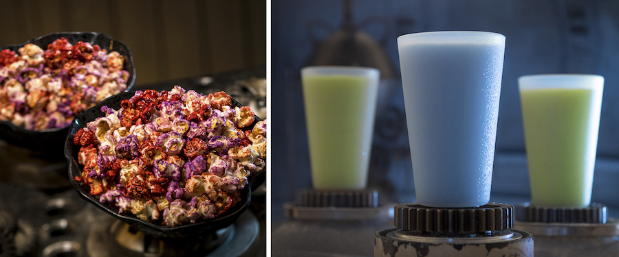 Star Wars: Galaxy's Edge Outpost Mix and Blue and Green Milk