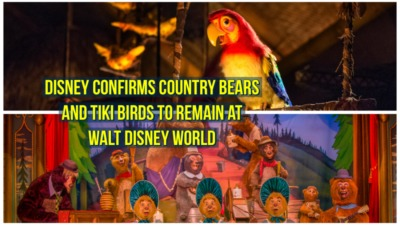 Disney Confirms Country Bears and Tiki Birds to Remain at Walt Disney World