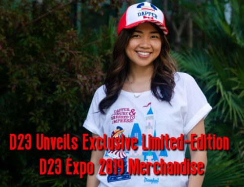 D23 Unveils Advance Look at Limited-Edition Merchandise for D23 Expo 2019