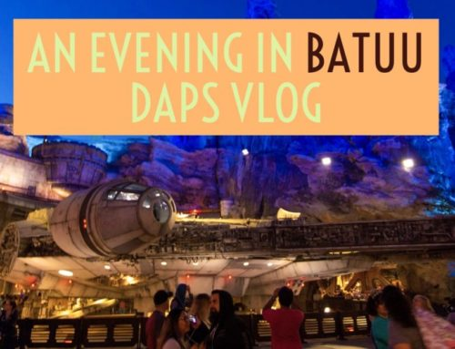 An Evening of Details at Galaxy's Edge – DAPS Vlog