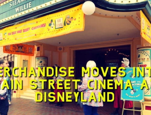 Merchandise Moves Into Main Street Cinema at Disneyland