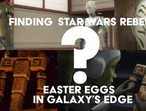 Finding Star Wars Rebels Easter Eggs in Galaxy's Edge