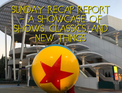 Sunday Recap Report – A Showcase of Shows, Classics, and New Things