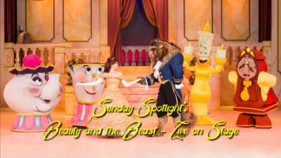 Sunday Spotlight: Beauty and the Beast – Live on Stage