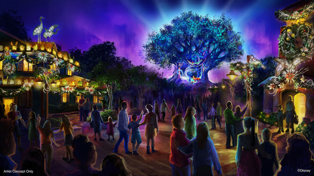 Disney's Animal Kingdom - Holiday Overlay