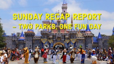 Sunday Recap Report – Two Parks, One Fun Day
