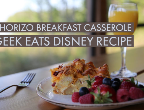 Chorizo Breakfast Casserole – GEEK EATS Disney Recipe