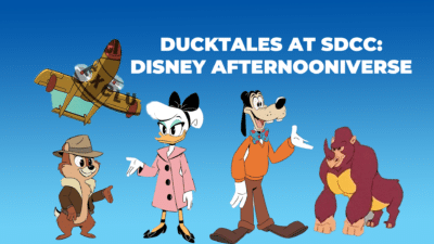 Disney's DuckTales Has Just Blown Away SDCC With the Disney Afternoon Cinematic Universe