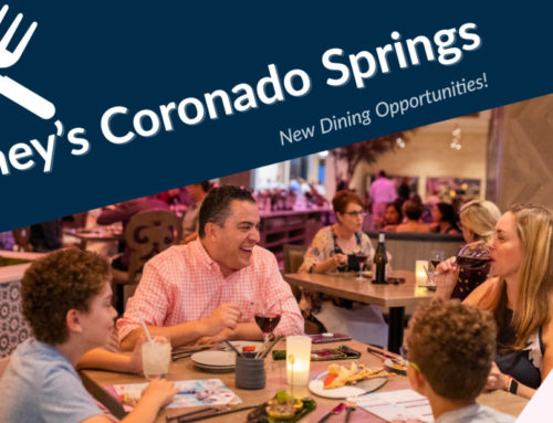 Unique New Restaurants Offer Dining Delights, Spectacular Views at the Re-Imagined Disney's Coronado Springs Resort