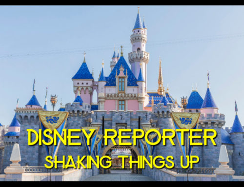 Shaking Things Up – DISNEY Reporter