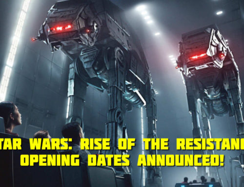 Star Wars: Rise of the Resistance to Open at Star Wars: Galaxy's Edge in Disney Resorts this Winter