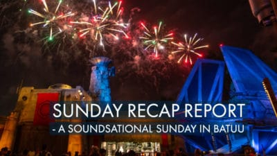 Sunday Recap Report – A Soundsational Sunday in Batuu