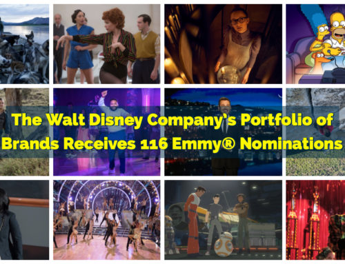 The Walt Disney Company's Portfolio of Brands Receives 116 Emmy® Nominations