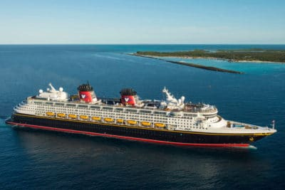 """Disney Cruise Line Named """"World's Best"""" by 'Travel + Leisure' Readers"""