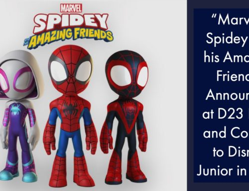 """Marvel's Spidey and his Amazing Friends"" Announced at D23 Expo and Coming to Disney Junior in 2021"
